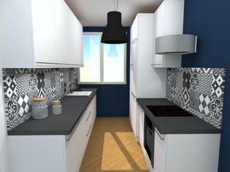 Projet design espace. architecture intérieur décoration intérieur LYON