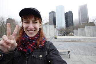 Bloggerin in New York