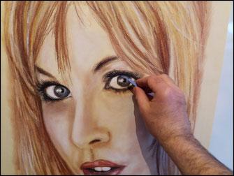 Portrait-d-apres-photo-pastel-sec
