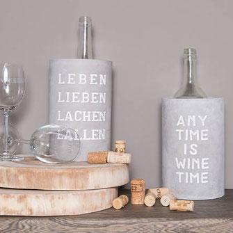Räder, Räder Design, Räder Designcollection, Beton, Weinkühler, Wein, Weinaccessoires