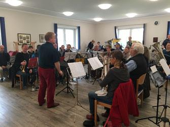 Brass Band WBI - Workshop mit Russell Gray 2018