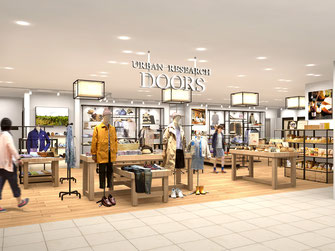 URBAN RESEARCH DOORS KOKURA OPEN