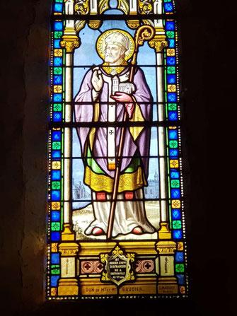 St Senier Evêque d'Avranches né à Coutainville au VI