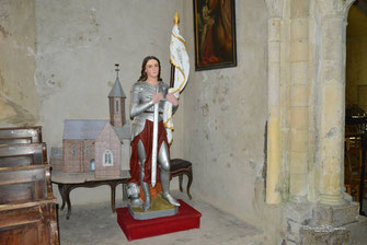 Statue de Sainte Jeanne d'Arc
