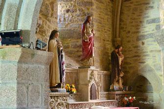 Sainte Thérèse de Lisieux-Le Sacré Cœur-Saint Joseph