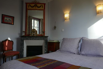 Chambre du parc - Manoir de Chaussoy - Somme - Picardie