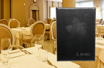 Wine list restaurant il Moro by Conti Borbone