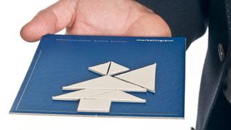 Sender- Empfänger Modell mit Tangram Kommunikation