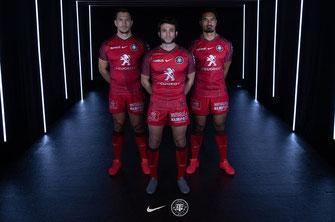 Stade toulousain, nouveau maillot, European Rugby Champions Cup, saison 2020/21