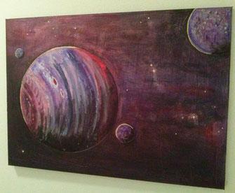 Space Series 1 2016 (Acryl) 70x50