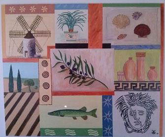 Mediterraneo 2003 (Öl) 120x100