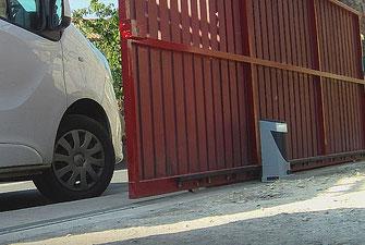 Motorisation de portail coullisant NICE Slight