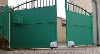automatisme de portail à roues motorisées AKIA
