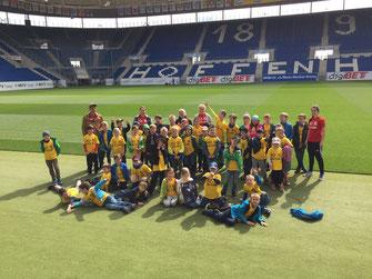 Ausflug zur Rhein Neckar Arena