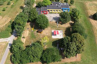 Luftfoto Kindergarten Schellbronn