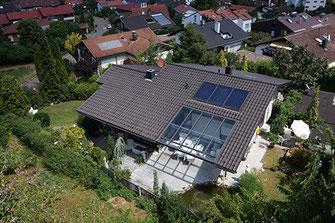 Luftbild Immobilie Privathaus