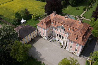 Luftfoto Schloss Assumstadt