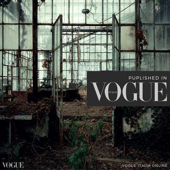 Link zu Bildern von Michael Schnabl veröffentlicht in der Vogue Italia