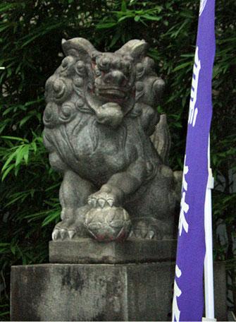 烏森神社 狛犬