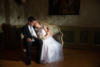 Hochzeitsshooting im Schloss Tettnang