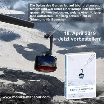 Die Tote vom Titlis Krimi Monika Mansour Emons Buch