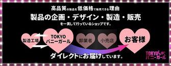 バニーガール衣装の製造・販売 TOKYOバニーガール