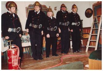 """""""Die Feuerwehrsitzung"""" 1985"""