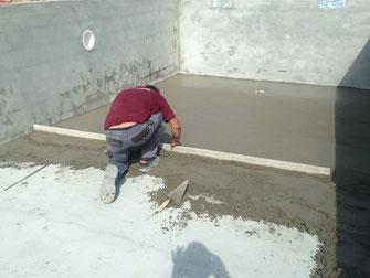enduit de ciment interieur de piscine