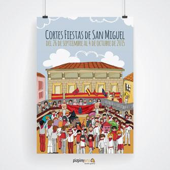 Carter Fiestas Cortes de Navarra - PRIMER PREMIO