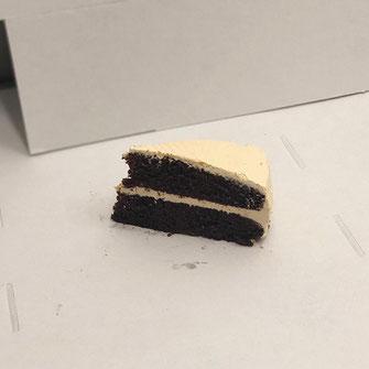 Foto tarta de zanahoria. (Aportación cliente).