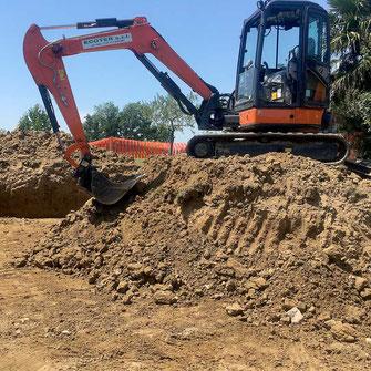 Ecoter Scavi - Realizzazione di uno scavo
