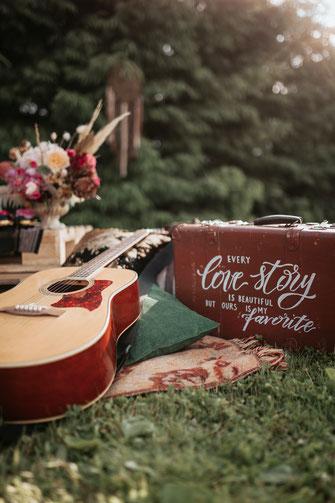 Boho Hochzeitsfotos vom professionellem Hochzeitsfotografen Deutschlandweit
