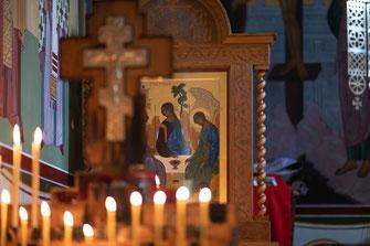 Videoaufnahmen für Rumänische Orthodoxe Taufe meines Kindes
