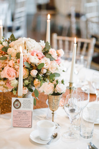 Boho Hochzeit Tischdekoration