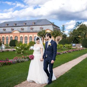 Fotograf, Videograf und Kamerateam für Foto und Video von Hochzeiten in Bad Nauheim