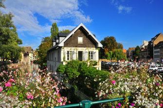 Fotos von Straßburg - beliebte Touristenstadt und Sitz des Europa Parlaments in Straßburg, Frankreich