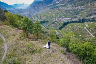 Fotograf und Video Deutschlandweit für russische und internationale Hochzeit - Brautpaar-Shooting ganz zu zweit
