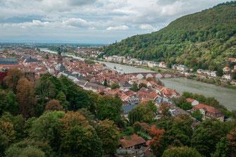 Fotos von Heidelberg - alte Universitätsstadt in Baden Würtemberg in Deutschland