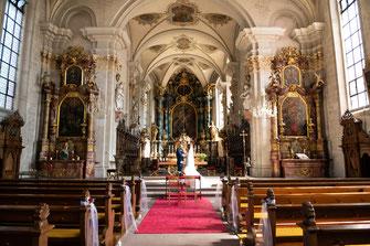 Fotograf für russische und internationale Hochzeit - Fotos und Videos in der Kirche