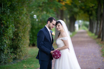 Fotograf für russische und internationale Hochzeit - Brautpaar-Shooting ganz zu zweit