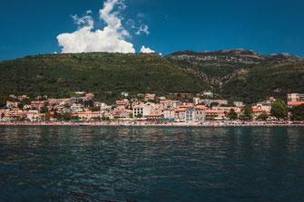 Petrovac - beliebtes Urlaubsparadies in Montenegro