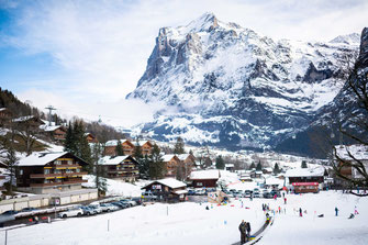 Grindelwald, Jungfrauregion, Schweiz