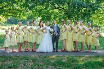 Fotograf in Fulda für russische und internationale Hochzeit - Gruppenaufnahmen und Familienfotos