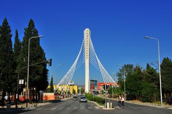 Fotos von Podgorica - moderne Hauptstadt in Montenegro