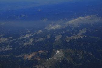 Fotos aus der Luft über Montenegro