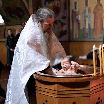 Fotograf für Moldawische Orthodoxe Taufe meines Kindes