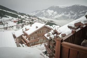 Fotos von Courchevel - wenig bekannter aber sehr teurer Ski Urlaubsort in Frankreich