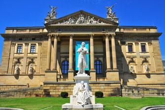 Fotos von Wiesbaden - Hauptstadt von Hessen in Deutschland