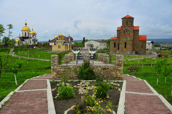 Fotos von Essentuki - Kurstadt und Kurort im Süden von Russland im Kaukasus Gebirge
