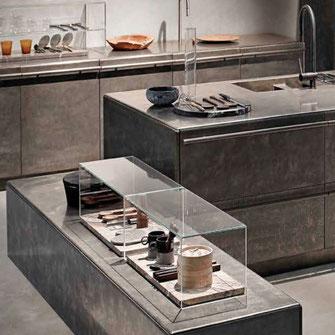 Design Stahlküchen und erstklassige Küchensysteme